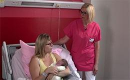 Bébé vient de naitre, pourquoi la température est importante